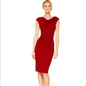 Michael Michael Kors Side Twist Draped Dress